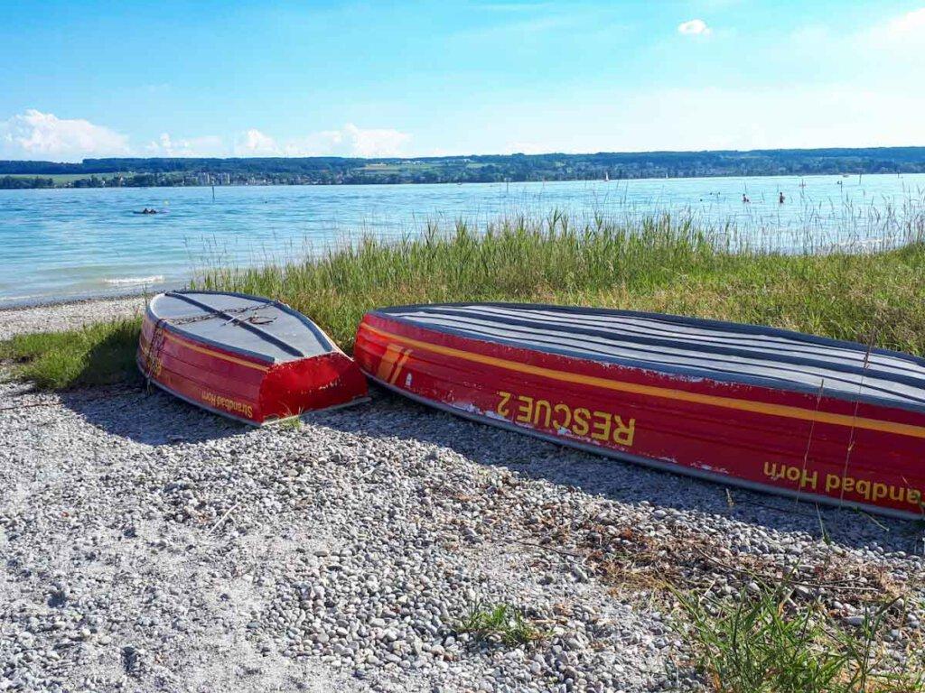 Das traumschöne Strandbad Horn in Konstanz am Bodensee