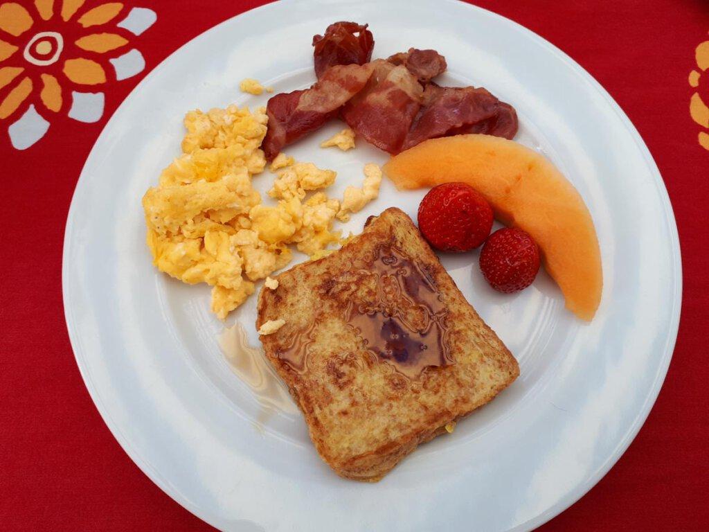 Typisch amerikanisches Frühstück zum Selbermachen für zuhause