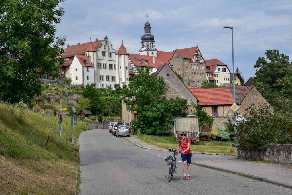 Die beeindruckende Kulisse des Kraichgau Orts Gochsheim