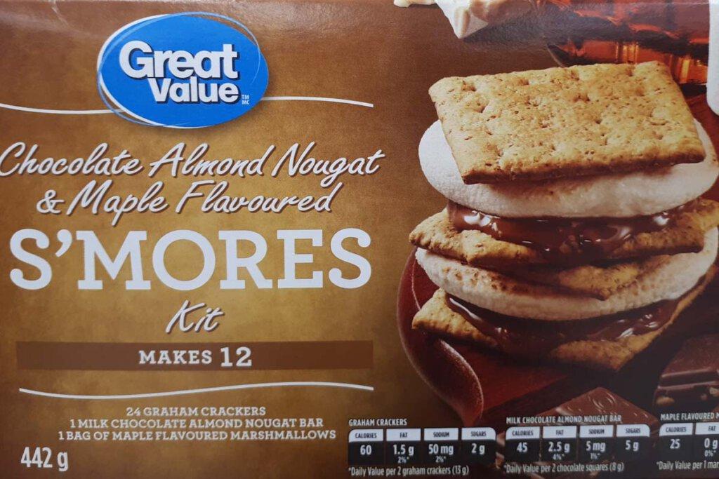 S'Mores Kits in amerikanischen Supermärkten
