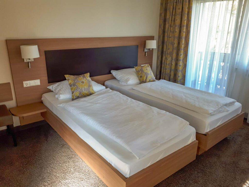 Unser Zimmer im Gasthof Pfauen in Oberkirch