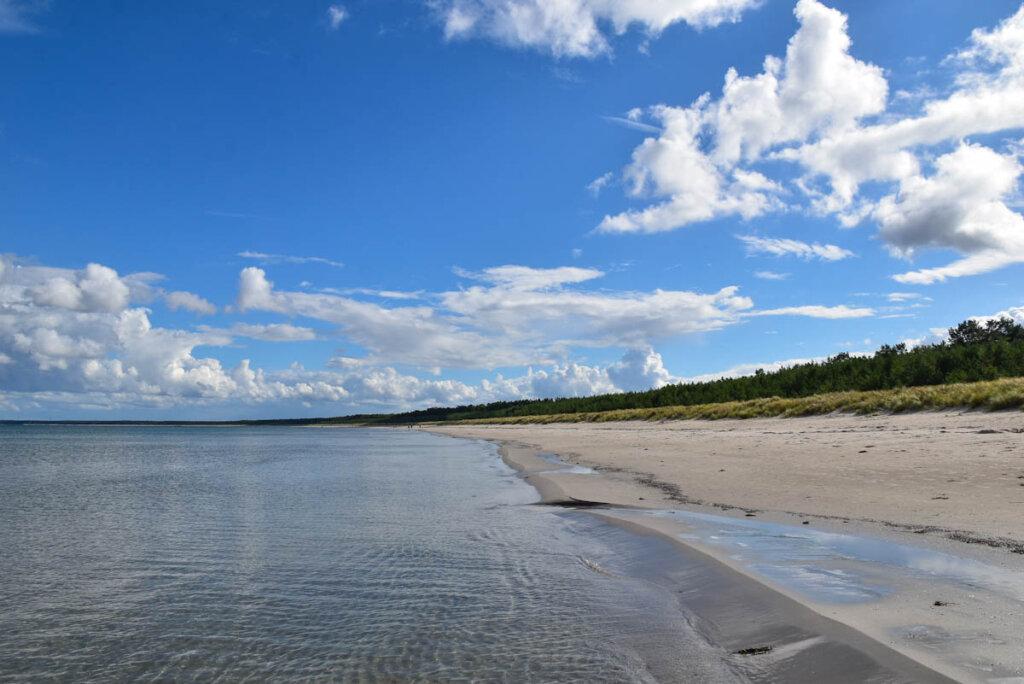 Der längste Sandstrand Rügens ist die Schaabe