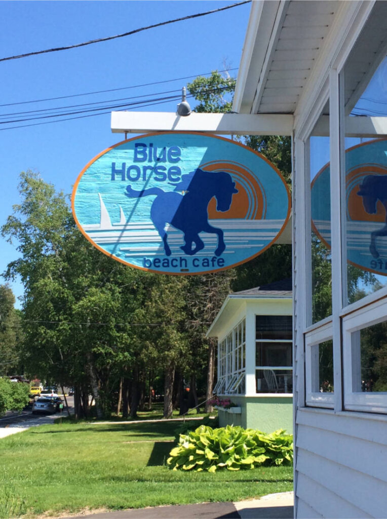 Lieblings-Café: Das Blue Horse in Fish Creek