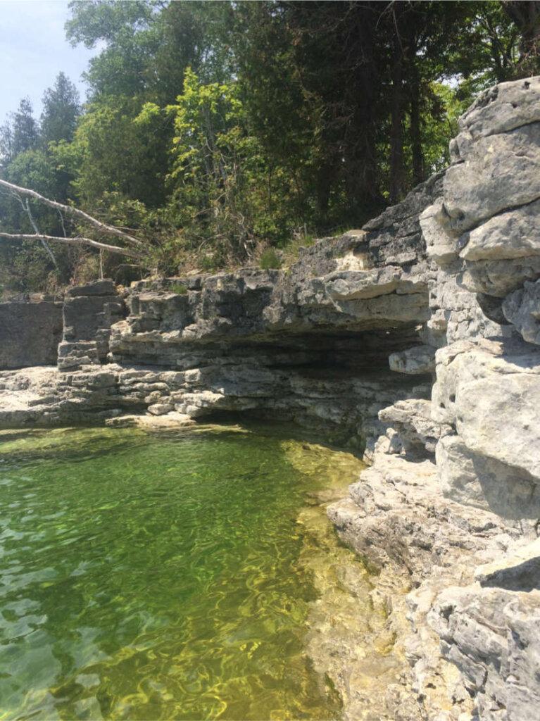 Cave Point im gleichnamigen State Park