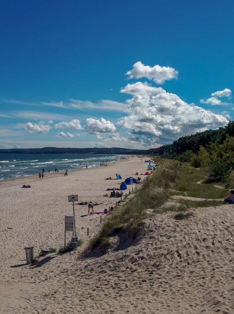 Proras Strand ist einer der schönsten Rügens