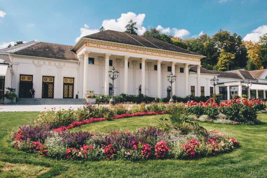Baden-Badens berühmtes Kurhaus- Bild: Schwarzwald Tourismus / Chris Keller