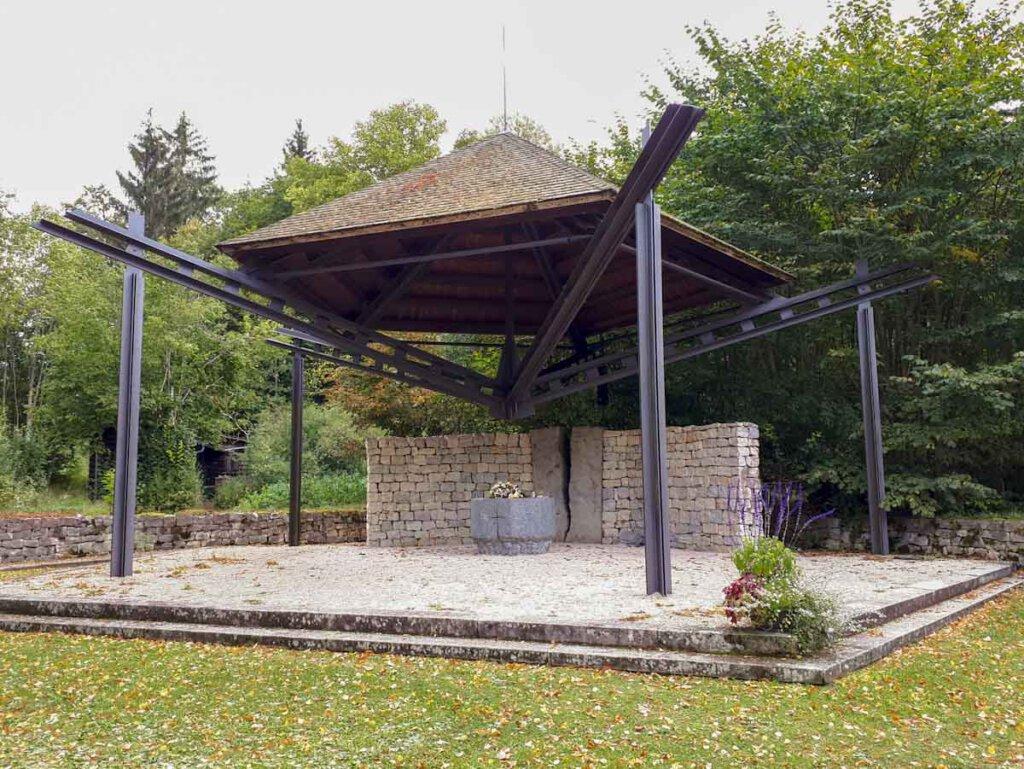 Euthanasie Gedenkstätte Grafeneck auf der Schwäbischen Alb