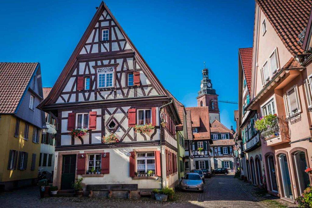 Fachwerkidylle in Haslach - Bild: Tourist Information Haslach / Herrmann Schmider