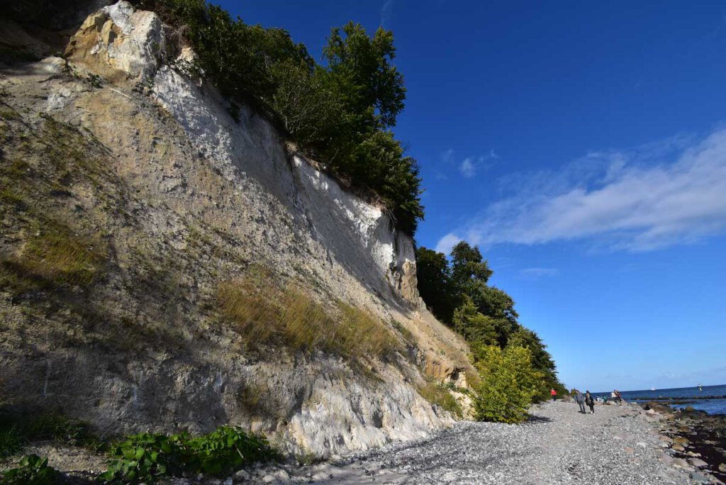 Wanderung auf dem Strandweg von Sassnitz zu den Kreidefelsen