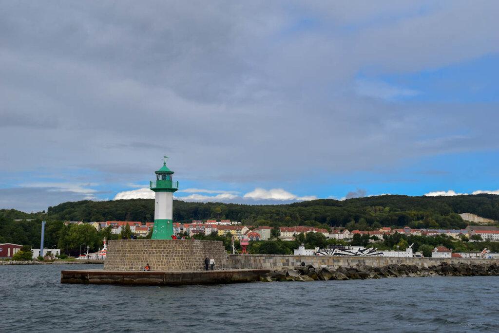 Das Molenfeuer im Hafen von Sassnitz