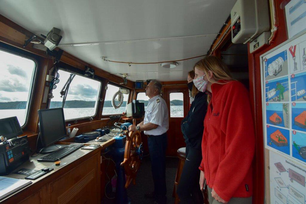 Rundfahrt zu den Kreidefelsen Rügen mit den Adler-Schiffen