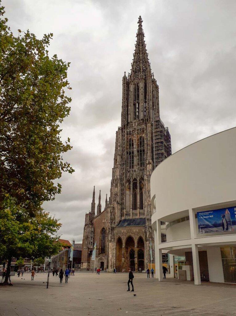 Höchster Kirchturm der Welt: Das Ulmer Münster