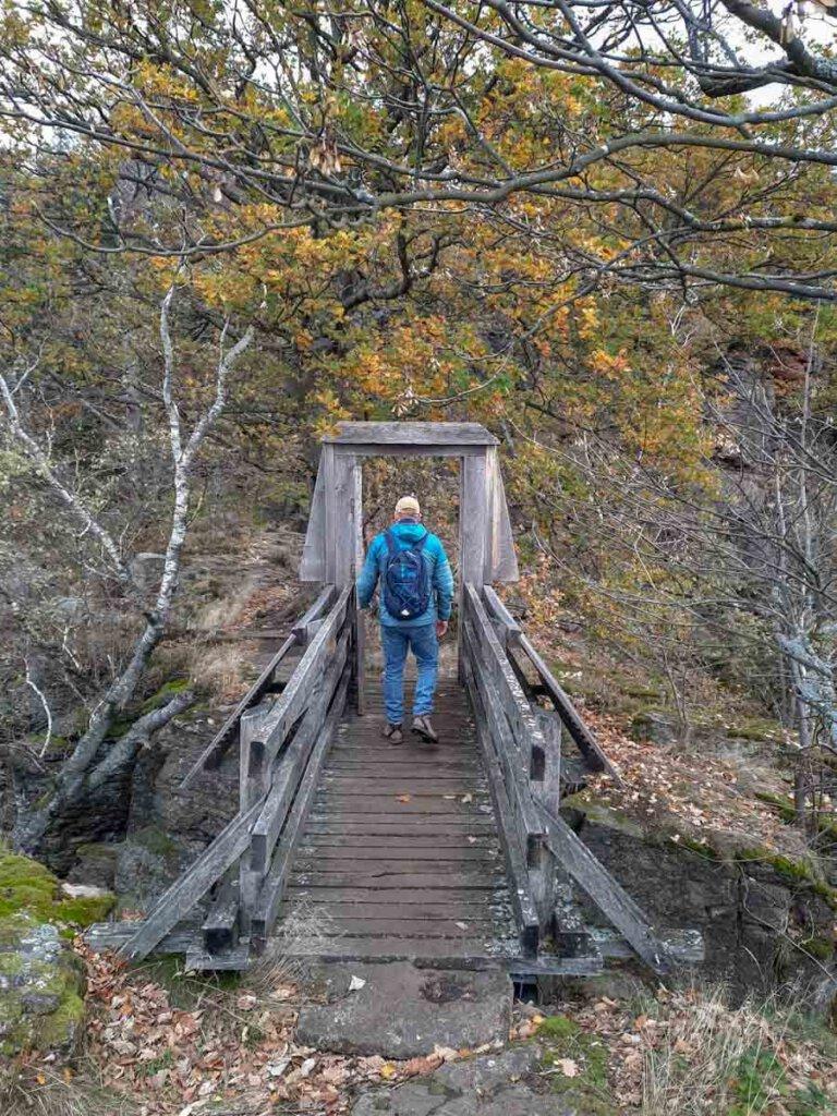 Das Tor zur Felsenbrücke am Battert