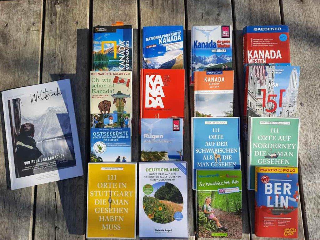 Unsere Lesetipps für tolle Reiseliteratur