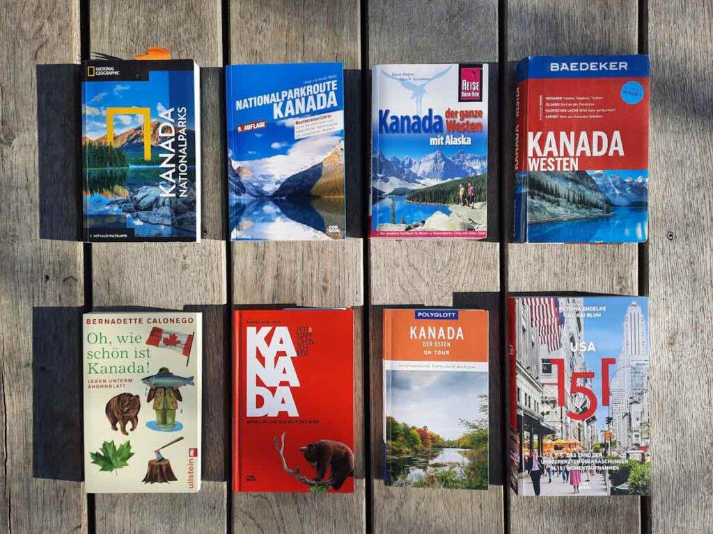 Empfehlenswerte Reiseführer und Reiseliteratur für USA und Kanada