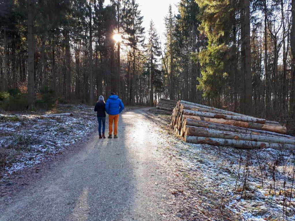 Winterwanderung zum Bolberg auf der Schwäbischen Alb