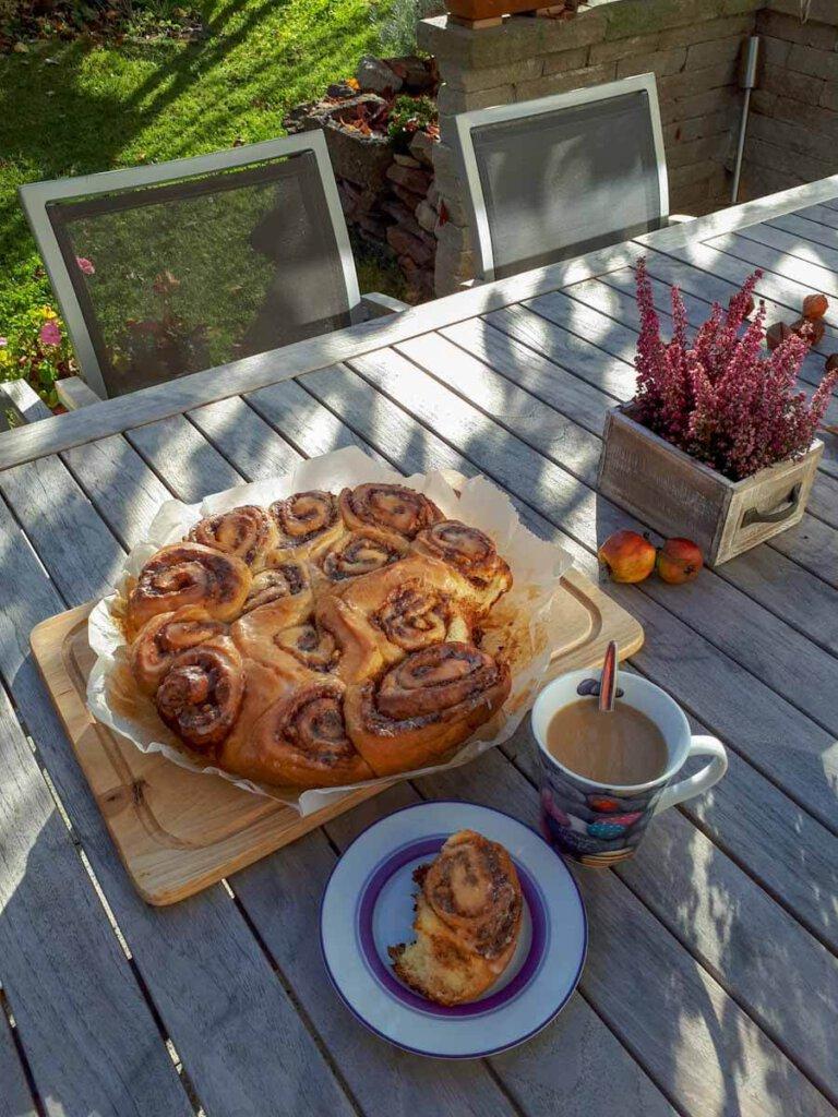 Unsere typisch amerikanischen Cinnamon Rolls sind auch im Sommer heißgeliebt