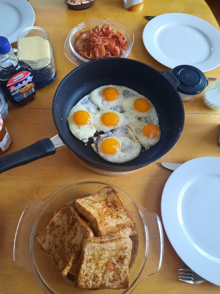 Zuhause frühstücken wie im Urlaub: American Breakfast