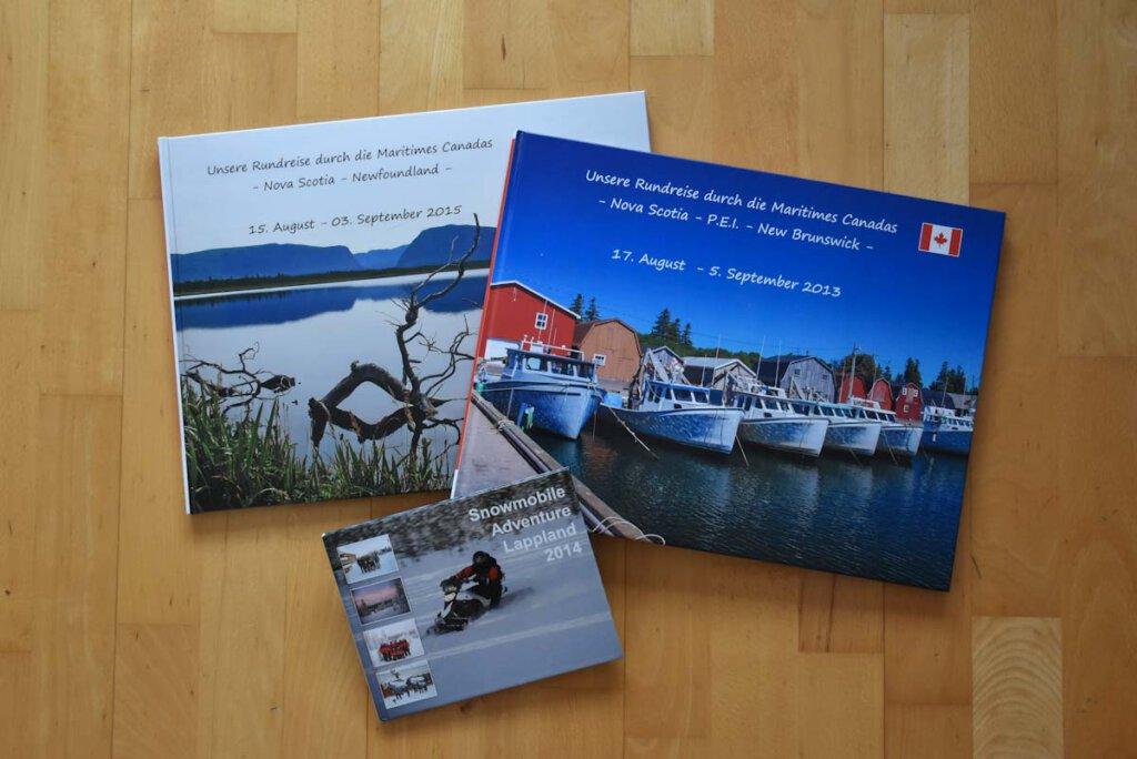 In Reiseerinnerungen schwelgen mit Fotobüchern