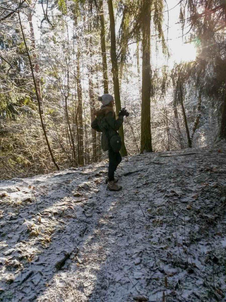 Mikroabenteuer im riesigen Abenteuerspielplatz Wald