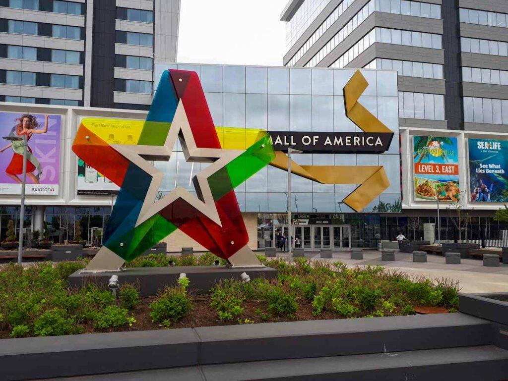 Die Mall of America in Minneapolis: die meistbesuchte Shopping Mall der Welt