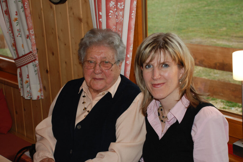 Unvergessen: Tante Käthes 90. Geburtstag