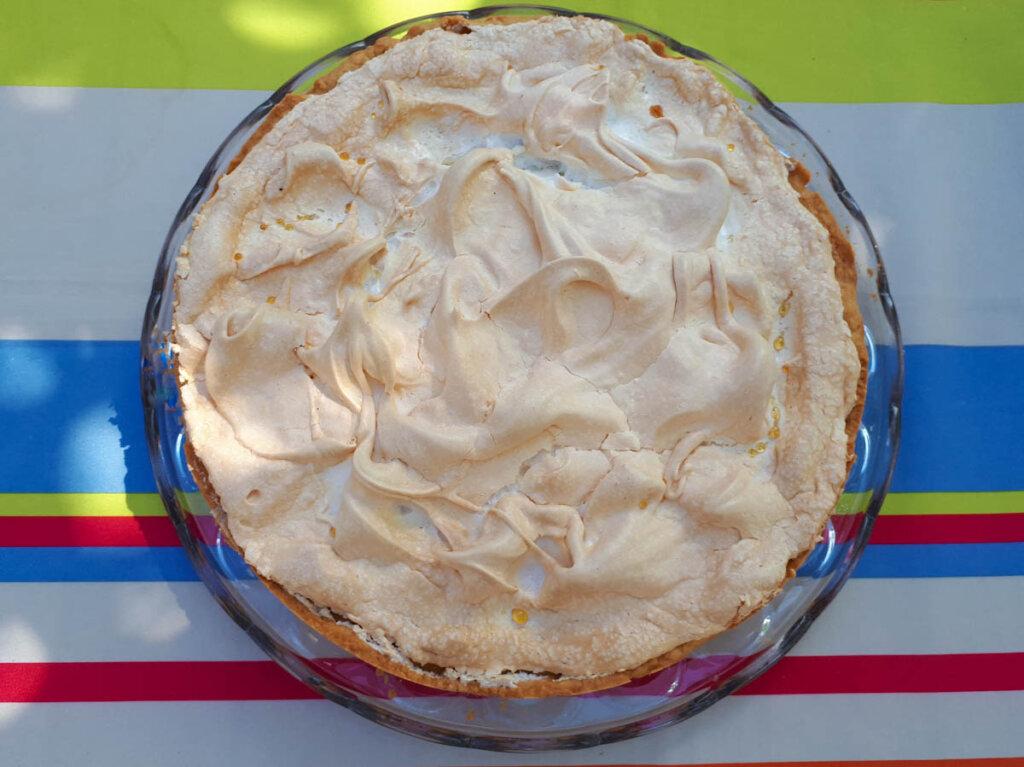 Tante Käthes Rhabarberkuchen Rezepte mit Baiserhaube