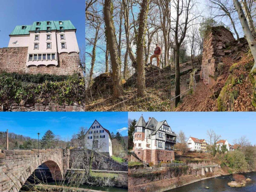 Wanderung Nordschwarzwald: Der Drei Burgen Weg in Pforzheim