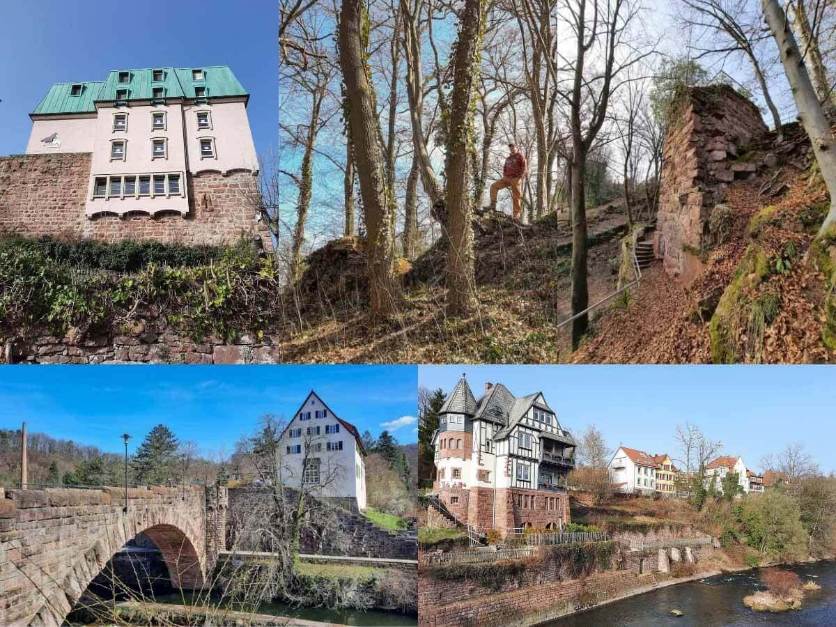 Wanderung Nordschwarzwald: Auf dem Drei Burgen Weg durch Pforzheim