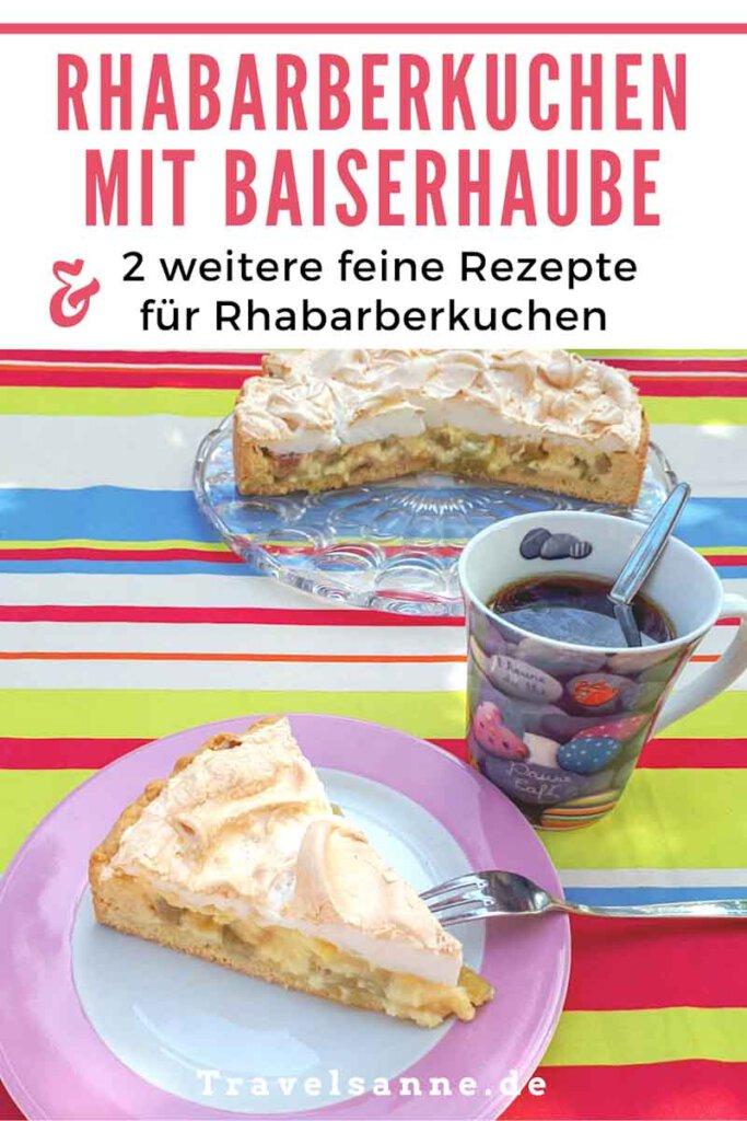 Rhabarberkuchen Rezepte auf Pinterest merken