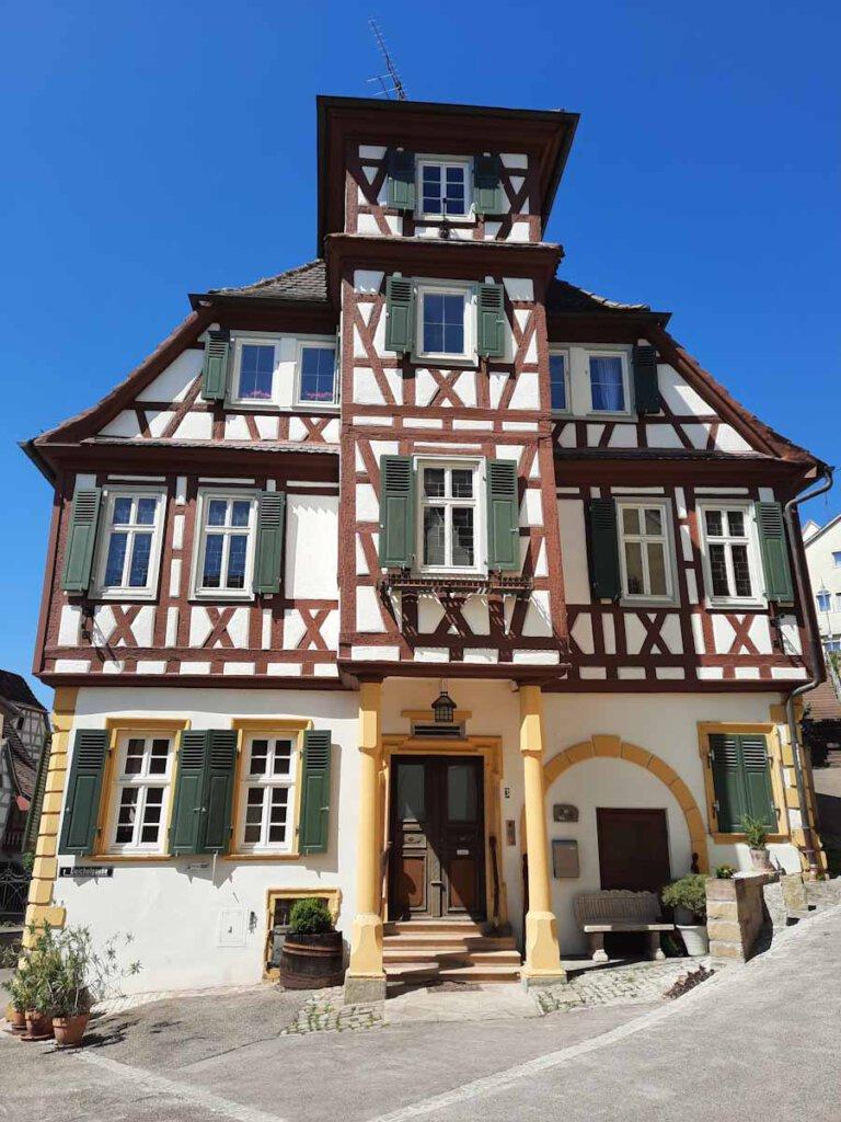 Schmuckes Fachwerkhaus in Vaihingen an der Enz