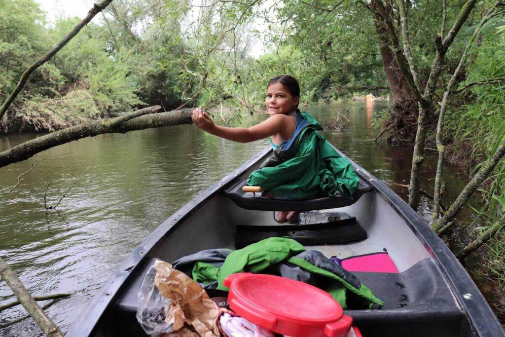 Kanutour Deutschland: Mit Kind auf der Ems in Nordrhein-Westfalen