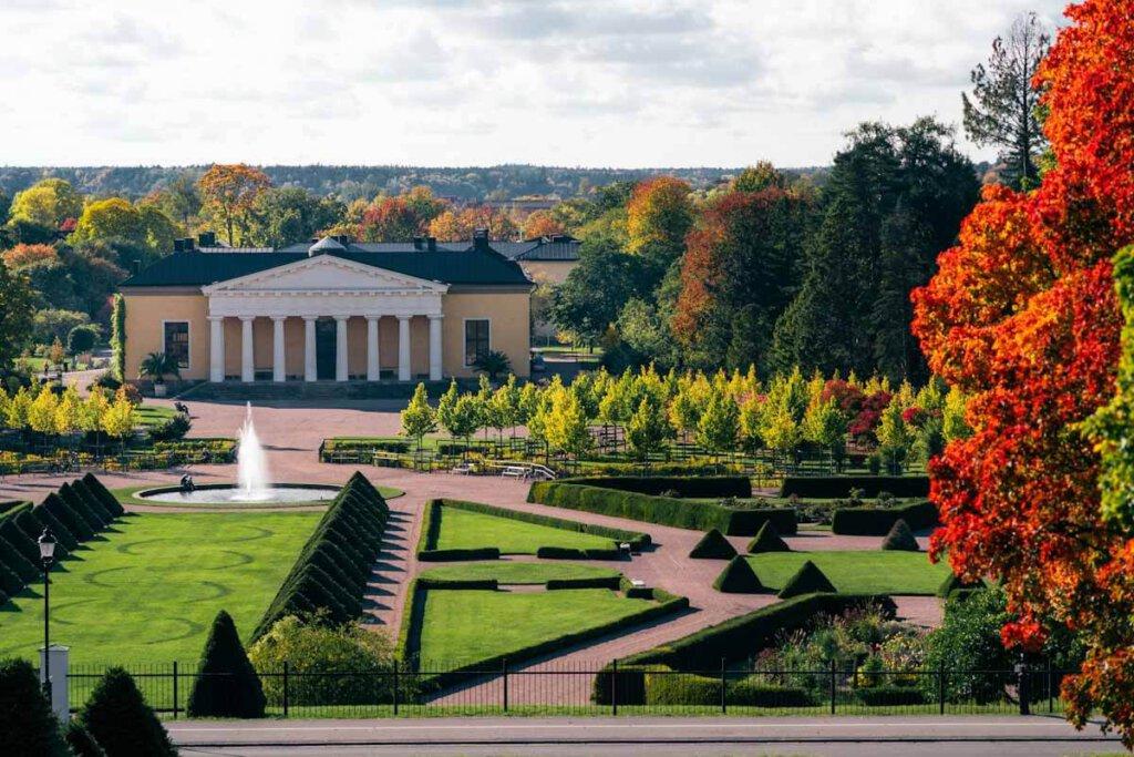 Der Botan - der Botanische Garten Uppsalas