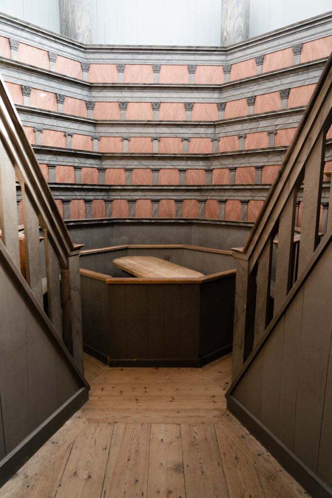 Der historische Anatomiesaal im Gustavianum in Uppsala