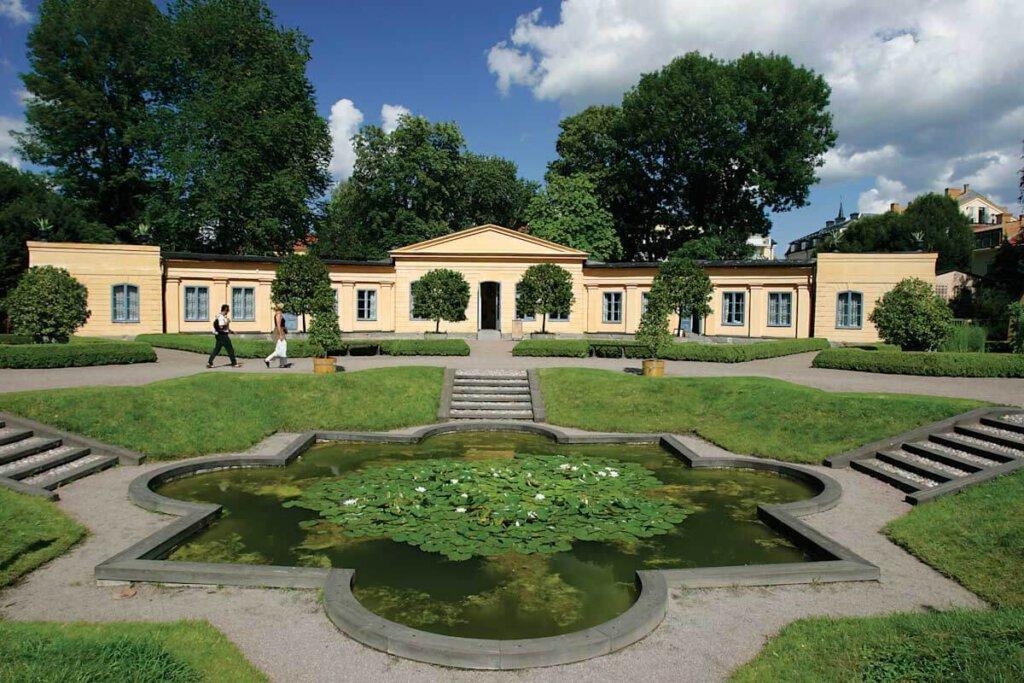 Uppsala Schweden: Der berühmte Garten von Linné mit dem Linné-Museum