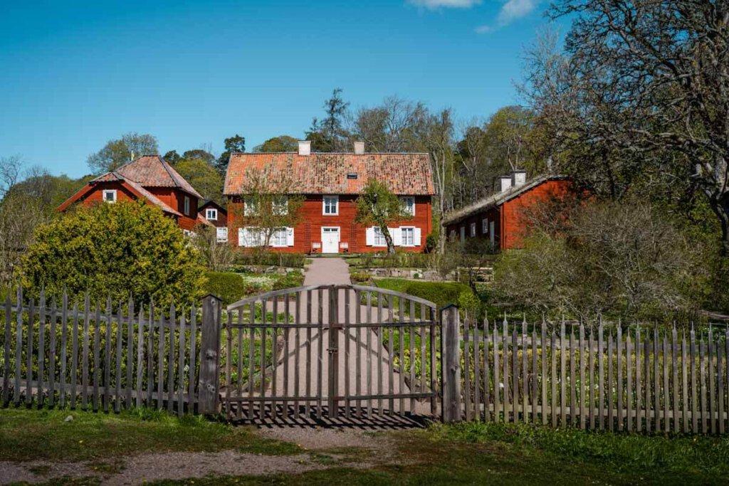 Schweden wie aus dem Bilderbuch: Linnés Gutshof Hammarby