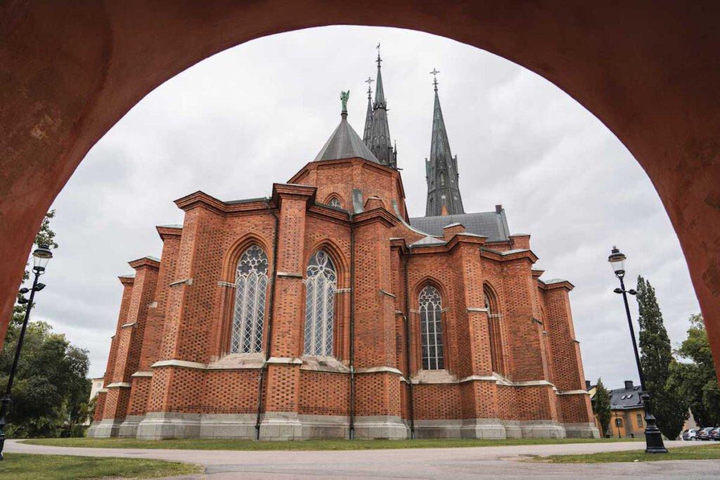 Uppsala Sehenswürdigkeit: Die domkyrka - der Dom