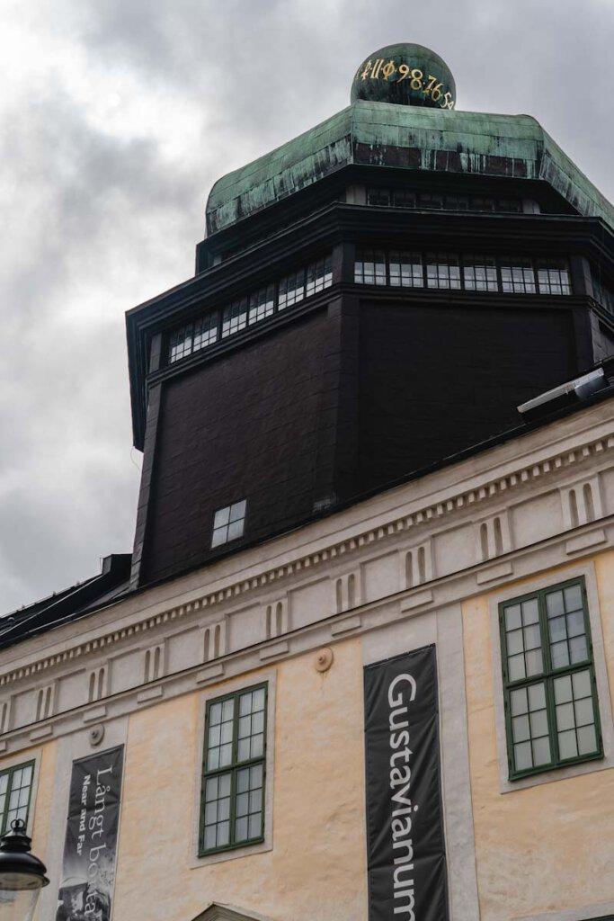 Das Gustavianum ist eine der beliebtesten Uppsala Sehenswürdigkeiten