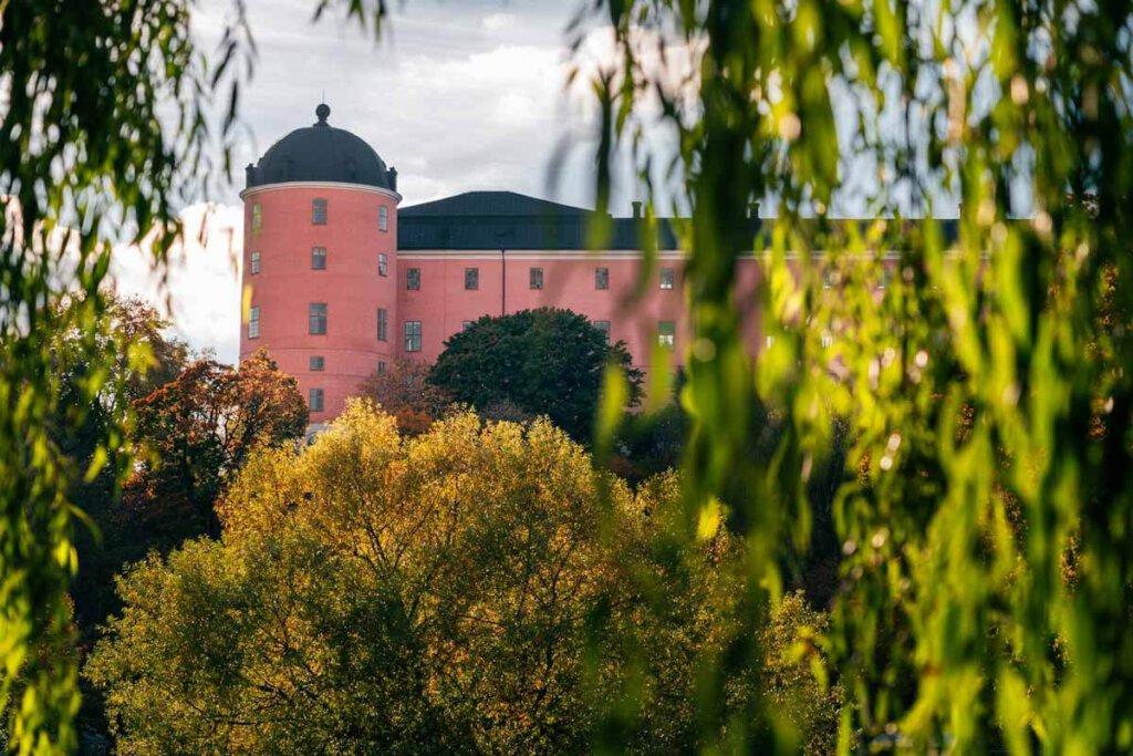 Uppsala slott - das Schloss von Uppsala in Schweden