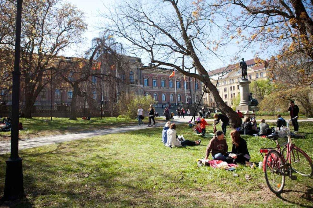Campusleben an der berühmten Uppsala University