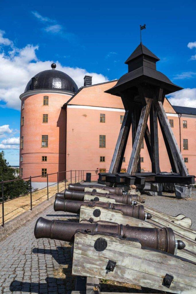 Das Uppsala Schloss mit der Gunillaklockan
