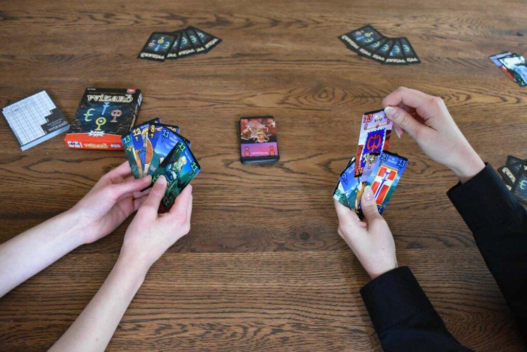 Wizard, das magische Stich-Kartenspiel