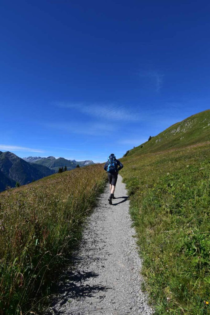 Bergtour im Lechtal mit Teenager