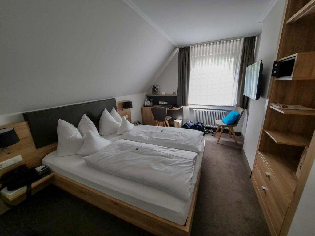 Unser Zimmer im Hotel-Restaurant Forellenhof Rössle in Honau