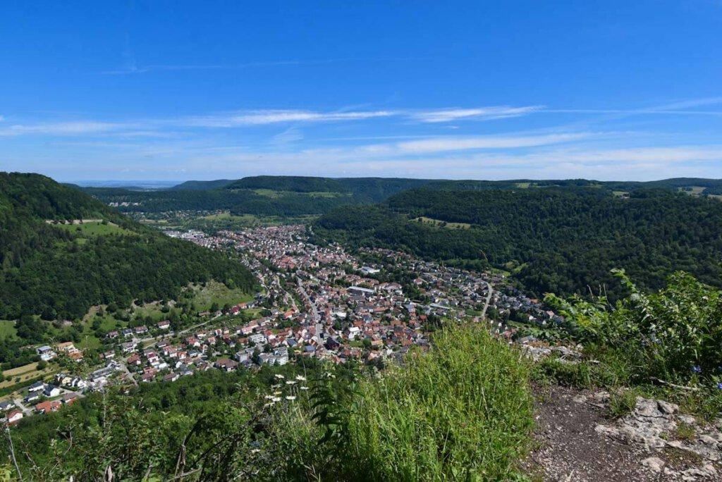 Traumhafte Aussichten vom Steilabfall der Schwäbischen Alb