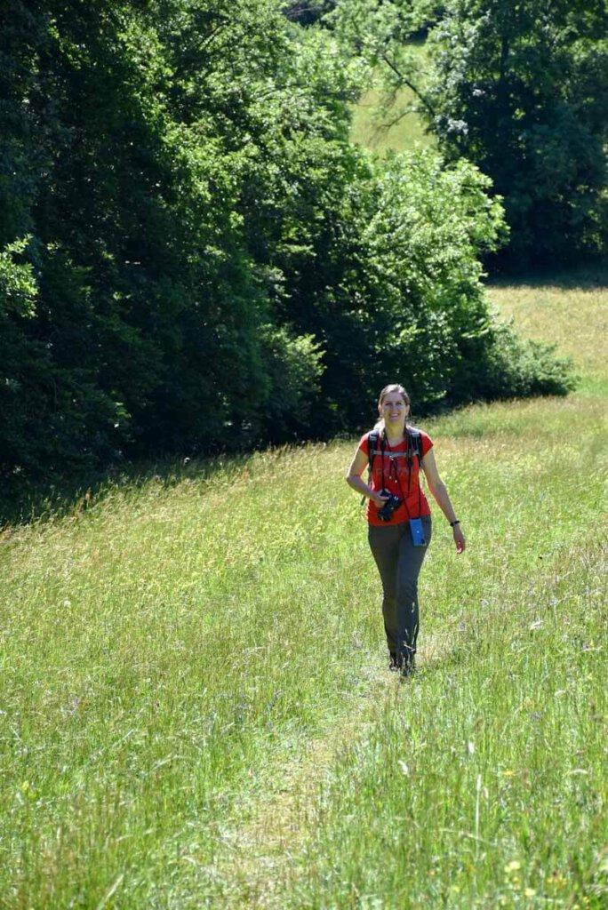 Wandern auf der Schwäbischen Alb wandern glücklich (mich auf jeden Fall)