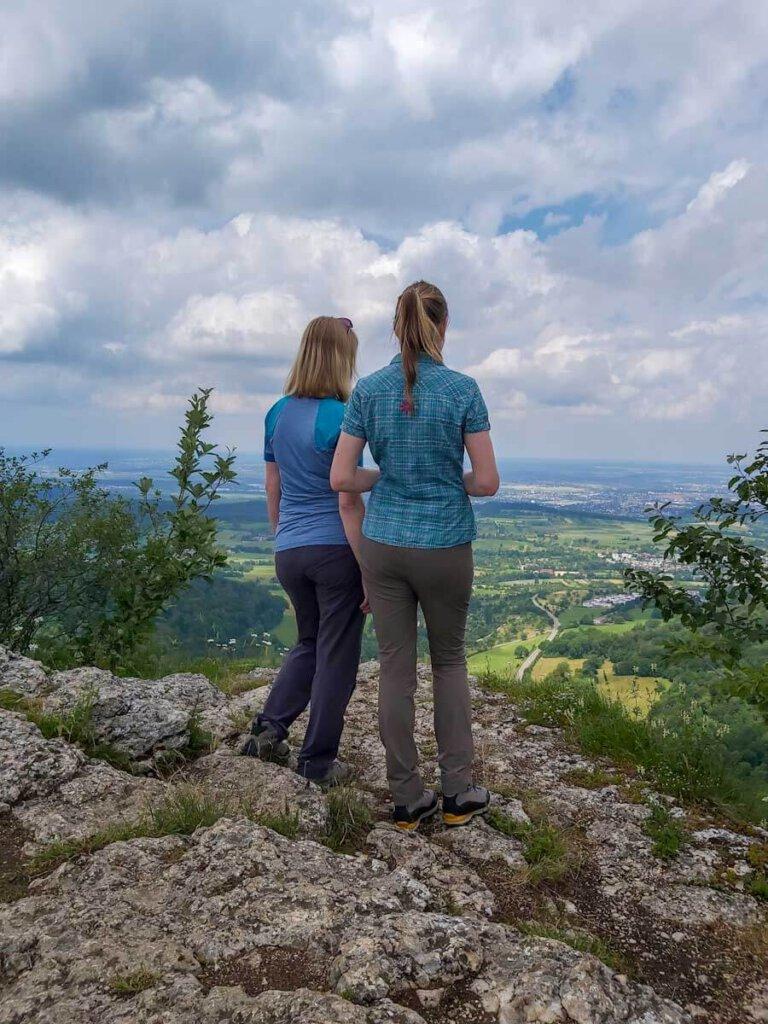 Wanderschwestern mit Heimatliebe zur Schwäbischen Alb