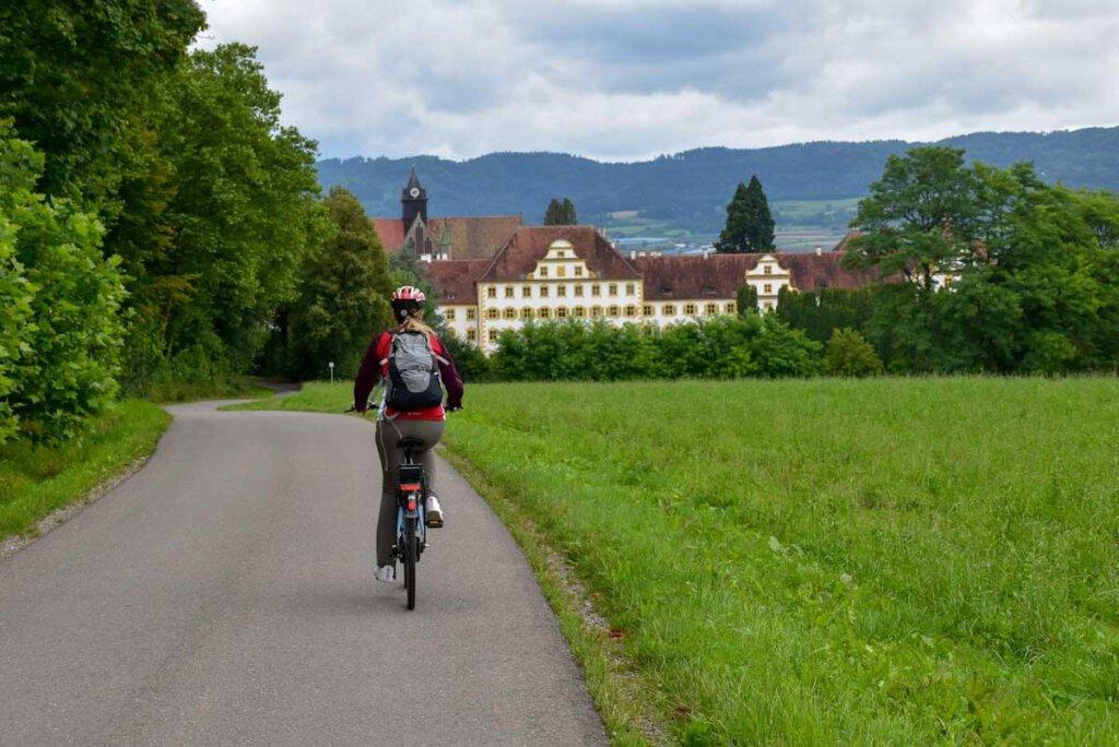 Bodensee Aktivitäten: Radtour zum Kloster und Schloss Salem