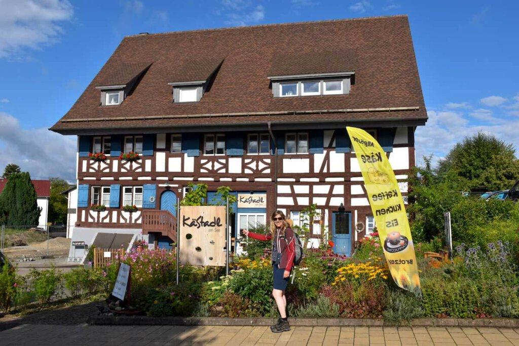 Der KäStadl am See in Uhldingen-Mühlhofen: Hofladen und Bistro