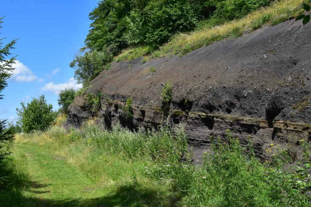Vulkanische Spuren finden sich überall in der Vulkaneifel